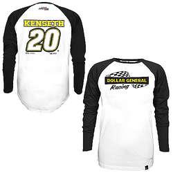 NASCAR Matt Kenseth #20 Varsity Baseball Jersey