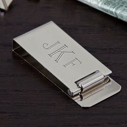 Distinguished Personalized Money Clip