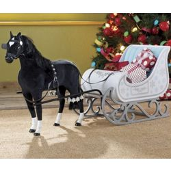 Horse and Sleigh Toy