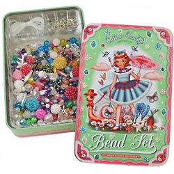 Vintage Styled Fufu Bead Set
