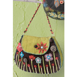 Garden Growing Flap Handbag