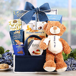 Thinking of You Bear and Sweets Basket