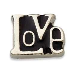 Charming Life Silvertone Love Charm