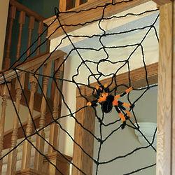 Giant Rope Spiderweb