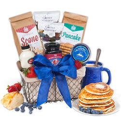 Gourmet Breakfast for Dad Gift Basket