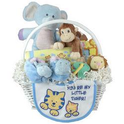 Noah's Ark New Baby Gift Basket
