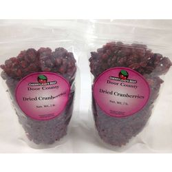Sweetened Dried Cranberries in 2 Lb. Packs