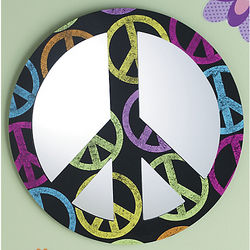 Peace Wall Mirror