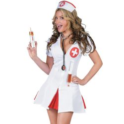 Nurse Say Ahhh Adult Women's Costume