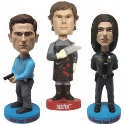 Dexter Bobble Head Set