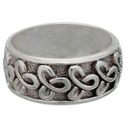 Men's Memories Sterling Silver Ring