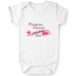 Personalized Prouduction Baby Snapsuit