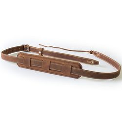 Vintage Brown Guitar Strap