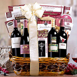 Red Wine Lover's Collection Gift Basket