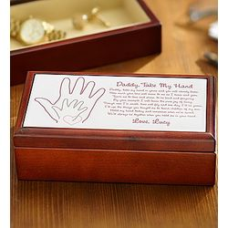 Personalized Dad Keepsake Box