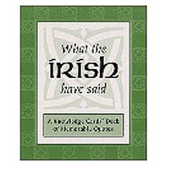 Irish Quotes Cards