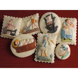 Wee Baby Springerle Cookie Gift Tin