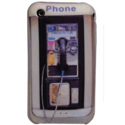 Phone Booth iPhone Cover