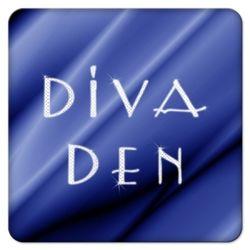 Blue Velvet Diva Den Coasters