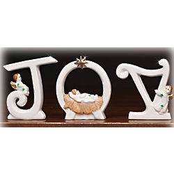 Joy Sculptural Letter Set