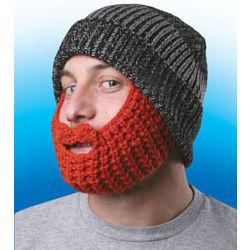 Knit Beard Cap