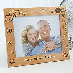 Personalized Birthday Memories Picture Frame
