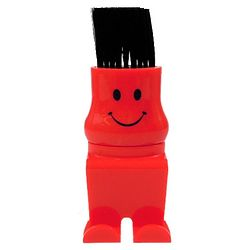 Bristle Buddy Red Computer Duster