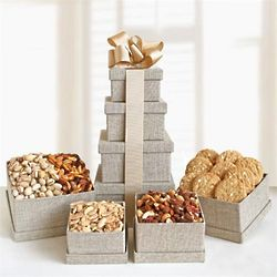 Gourmet Nut Gift Tower