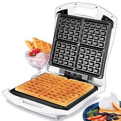 4Slice Belgian Waffle Baker