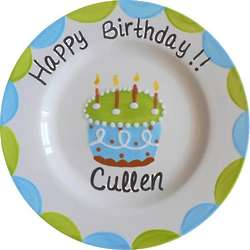 Personalized Boy Birthday Plate