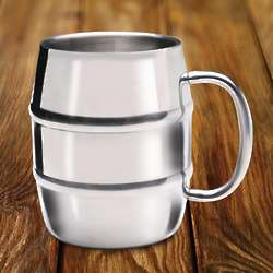 Double-Walled Stainless Steel Coffee Mug