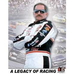 NASCAR Dale Sr. Legacy of Racing Wall Sign