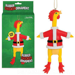 Rubber Chicken Ornament