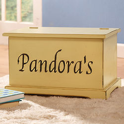 Personalized Pinewood Chest