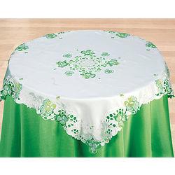 Lacy Shamrock Tablecloth