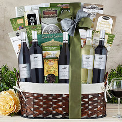 Steeplechase Vineyards California Wine Gift Basket