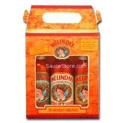 Melinda's 3 Pack Hot Sauce Gift Set