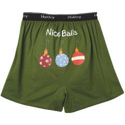 Men's Nice Balls Holiday Boxer