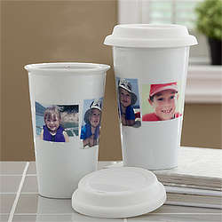 Photo Collage Personalized Travel Tumbler