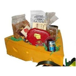 Cheesehead Gift Basket