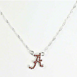 Alabama Crimson Tide Rhinestone Necklace