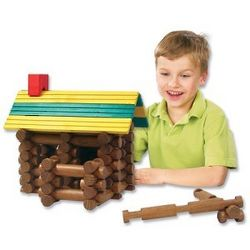 Frontier Logs Building Set