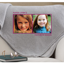 Personalized Photo Collage Blanket