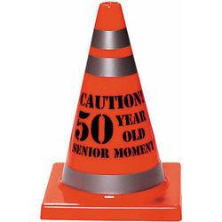 Senior Moment 50th Birthday Cone