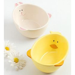Bunny and Chick Bowls