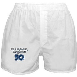 Sinful 50th Birthday Boxer Shorts