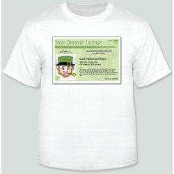Irish Driver's License T-Shirt