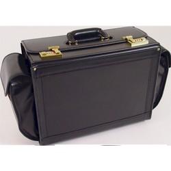 All Leather Senior Pilot Case