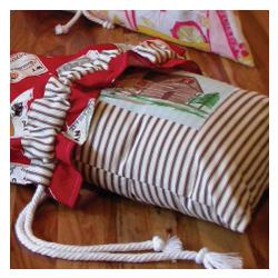 Overnighter Drawstring Bag
