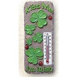 Kiss Me I'm Irish Thermometer